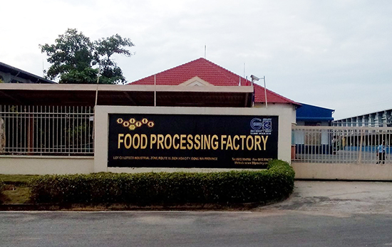Food Processing Facetory